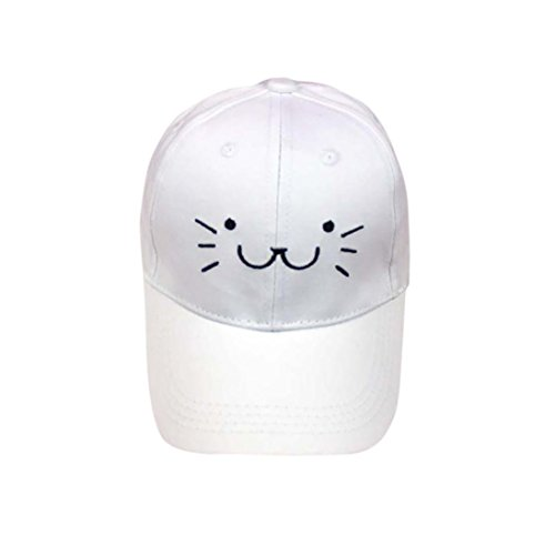 ADESHOP Enfants De Bande DessinéE Chat Face Baseball...