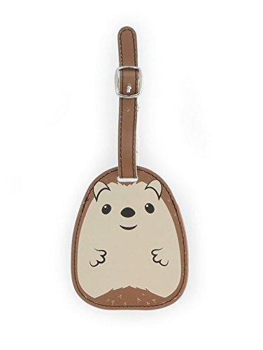 Kikkerland Koffer Taschenanhänger Gepäckanhänger, Braun
