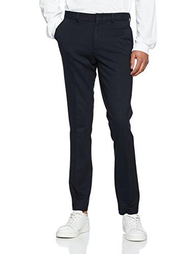 New Look Herren Hose Smart Jersey Jogger, Blau (Marineblau), 34 Normal
