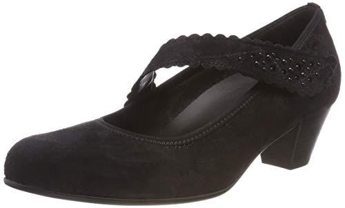 Gabor Shoes Damen Comfort Basic Pumps, Schwarz (Deko) 97, 37.5 EU