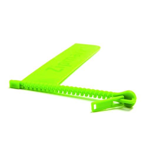Lesezeichen Zipmark green