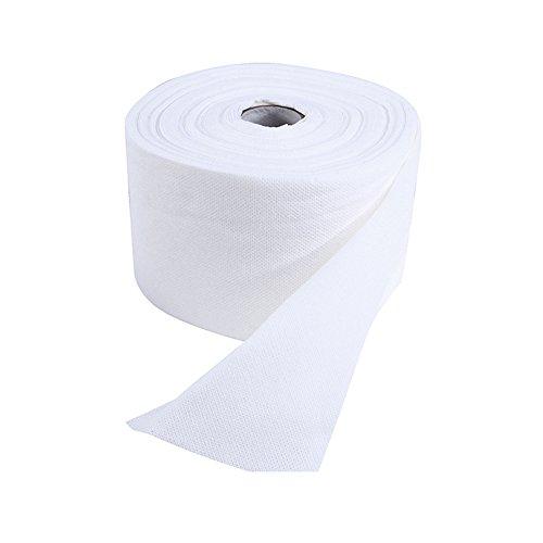 Einweg Face Handtuch Kosmetik Baumwolle Pads entfernen Make-up Soft Facial Baumwolle Pad Weiß Rolle (Maniküre Handtücher)