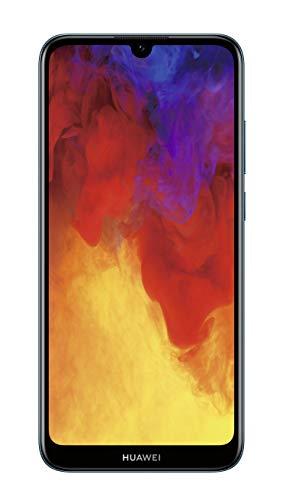 HUAWEI Y6 2019 Dual-SIM Smartphone 15,46 cm (6,09 Zoll) (3020mAh Akku, 32 GB interner Speicher, 2GB RAM, Android 9.0) sapphire blue