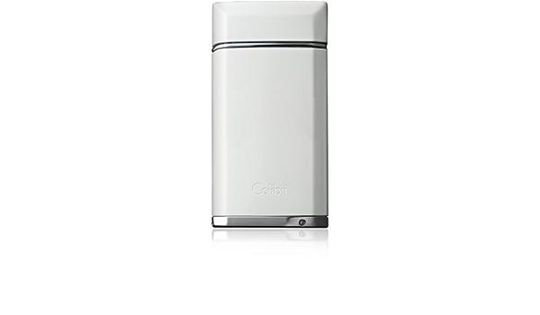 Colibri Evoke Blanc Simple Jet flamme briquet de luxe dans une bo/îte cadeau