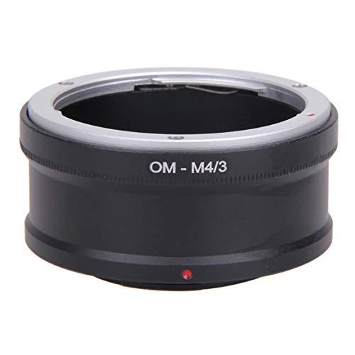 Funnyrunstore OM-M4/3 Bague Adaptateur d'objectif Om Lens Micro 4/3 M43 Corps de caméra Anneau Adaptateur d'objectif Inverse pour Olympus Black