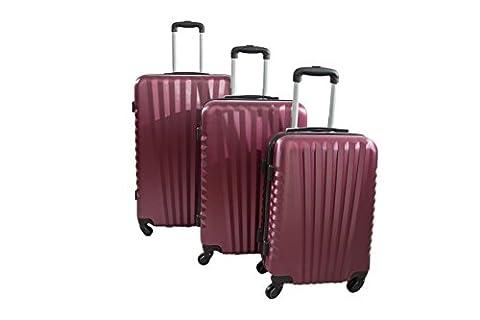 Set Trolley - TROLLEY ADC Set de 3 valises rigides