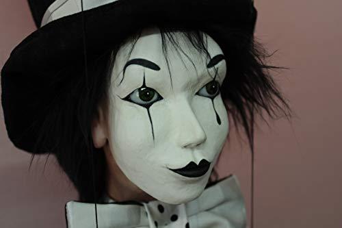Marioneta Mimo marionette puppet ooak artdoll títere