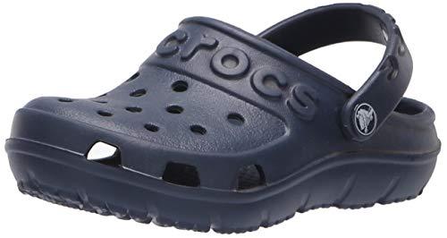 Crocs Crocs Hilo Clog Kids, Unisex - Kinder Clogs, Blau (Navy), 30/31 EU (Crocs Kinder 12 13)
