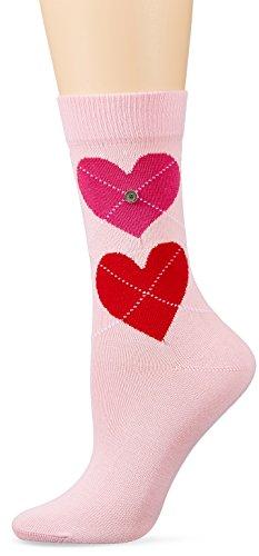 Burlington Damen Socken Soulmate, Mehrfarbig (Rose 8793), 36/41