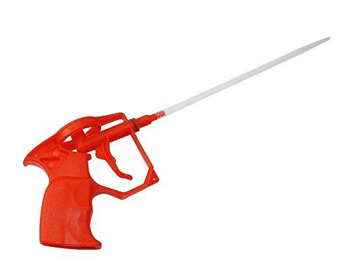 Schaumpistolen, Bauschaum PU Expanding Foam Abdichtungspistole, PU Foam Kunststoffkörper Pro Heavy Duty Schaum Ausweitung sprayer PU-Bauschaumpistole (Komplett aus Kunststoff)