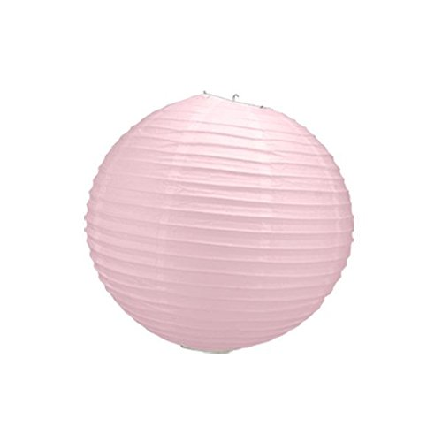 Lanterne chinoise 30 cm-Rose pâle