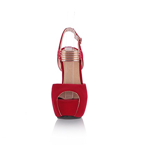 Adee , Sandales pour femme red