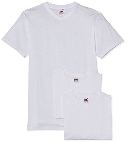 fruit-of-the-loom-mens-valueweight-3-pack-v-crew-neck-short-sleeve-t-shirt-white-large