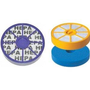 1 X Allergie Hepa Filtres Set complet pour Aspirateur Dyson DC05 DC08 - Filtre HEPA DC05 Dyson Kit pour DC08 DC08TW DC08T - HEPA SET contient: Remplacement Dyson 907671-01, 905401-01, 902768-01 DC08 DC05 lavable Avant moteur MEMA filtre et Remplacement