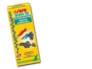 Sera Spirulina Fish Food 24 Tablets from sera