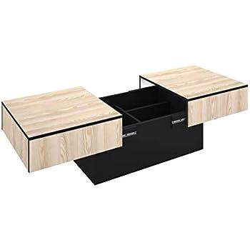 Cérusé BlancBois City Et Box Chêne Creations Basse Table Berlioz 13TlKFJc