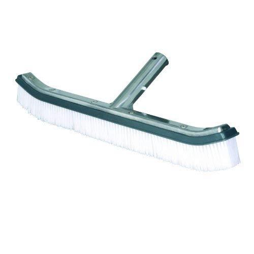 Certikin Graphit Swimmingpool mit Bürste, Aluminium, 18 cm