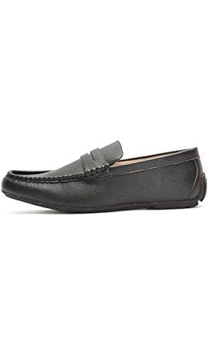 Reservoir Shoes Herren Mokkasins Schwarz Schwarz 40 EU Schwarz