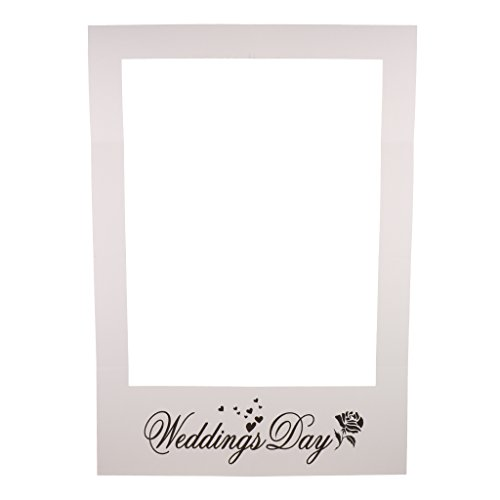 Baoblaze Selfie Cornice Classe Di 2018 Festa Di Graduazione Wedding Day Photo Booth - 2