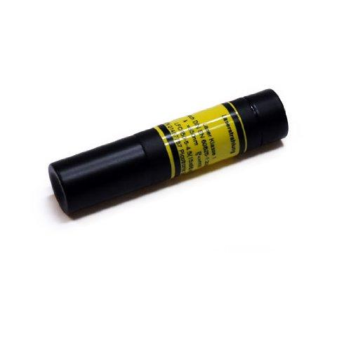 Láser de líneas, Rojo, 650nm, 90°, 5mW, Ø15x68mm, Láser Clase 1, Foco Fijo (250mm) - 70107425