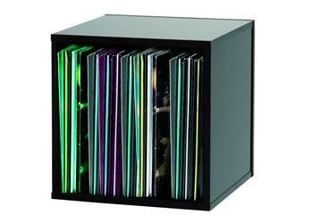 Glorious Record Box 110 Vinyl LP Storage - Black