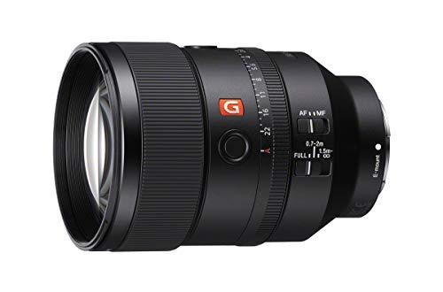 Sony SEL135F18GM G Master Objektiv (135 mm, F1.8, Vollformat, Festbrennweite, geeignet für A9, A7, A6000, A5100, A5000 und Nex Serien, E-Mount) schwarz