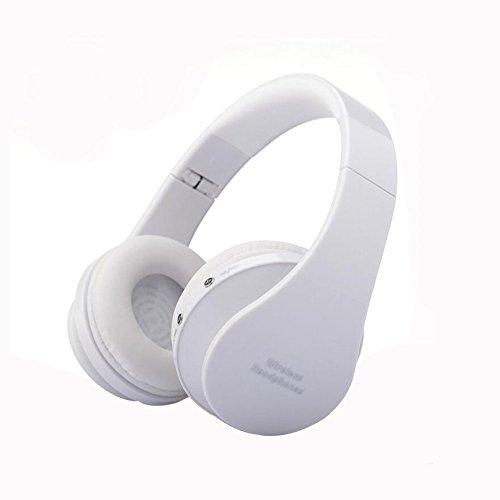 Cuffia Bluetooth, NNIUK 3D stereo senza fili auricolare Over-ear con