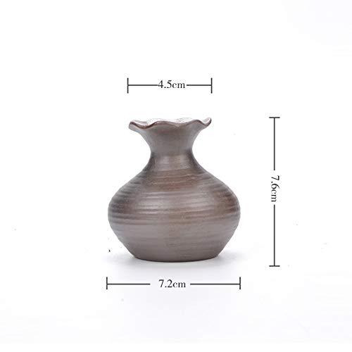 gfjfd Kreative Heimat Blumendekoration Vintage Brennholz Vase Steinzeug Keramik Hydroponik Blume Eingefügt Keramik Handwerk Blumentopf Nr. 1