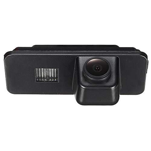 HD CCD Rückfahrkamera Farbkamera Einparkkamera Nachtsicht Rückfahrsystem Einparkhilfe-Wasserdicht & Stoßfest für VW Passat CC/PHAET/Scirocco/Polo/Variant/Golf 5 V MK4/MK5/MK6/Seat Leon /Leon4/Skoda Ccd Rückfahrkamera