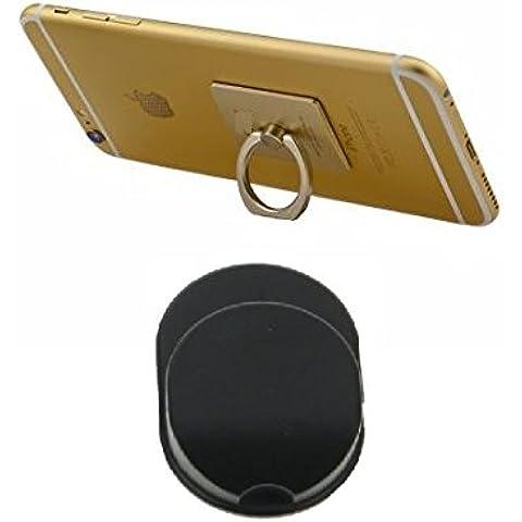 buyersbargin® Universal 360Rotating Slim Premium empuñadura Anillo de plástico Stand Teléfono Tablet Holder + Coche/Soporte de pared