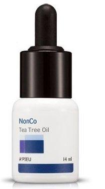 A´Pieu - NonCo Tea Tree Öl gegen Hautunreinheiten - Gesichtspflege mit Teebaumöl - Anti Pickel und Mitesser