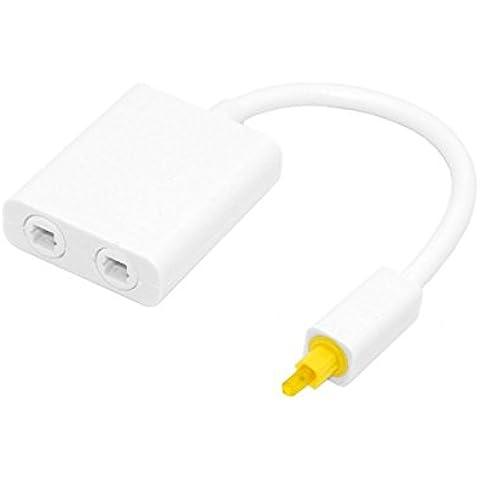Switch in fibra per 2 in 1 out Audio linee a fibre ottiche 2 connettore di fibra a fibra Audio distributore - Linea Distributore