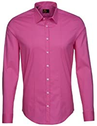 Seidensticker Herren Langarm Hemd UNO Super Slim Stretch Kent pink 570590.43