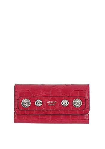 Guess ,  Damen Damen-Geldbörse Rot rot Einheitsgröße