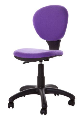 Jugend Bürostuhl Schreibtischstuhl Kinderstuhl mit Lehne lila