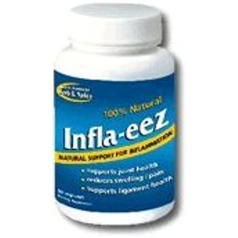 North American Herb and Spice, Inflam-eez Capsules, 90-Count by North American Herb & Spice