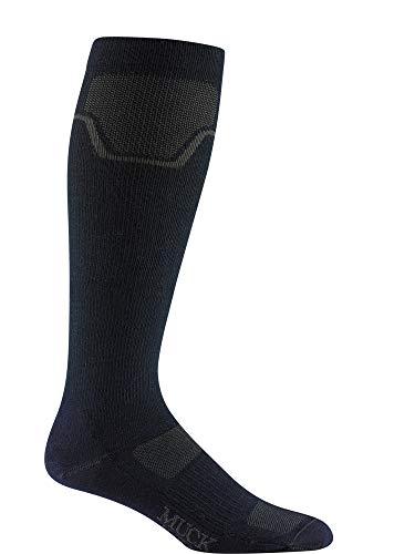 Wigwam Herren Socken Muck Anchorage Over The Wade - Blau - Small -