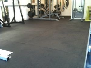 Heavy Duty Large Rubber Gym Mat ...