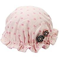 FOUGNOGKISSS Dot bebé recién Nacido Sombrero de Cobertura del Casquillo del bebé del Resorte del Casquillo Caliente Princesa de 0-4 Meses (Azul) (Color : Azul, tamaño : Head Circumference)