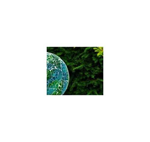 Outdoor Garten Solar Power Mosaik Ball auf Säule Licht Ornament Lampe. Solar Screen Kits