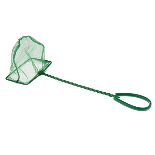 perfk Aquarium Fischnetz Fish-Net Fangnetz für Aquarien, 6 Größen Wählbar - 4 Zoll (Fisch-netz Für Aquarium)