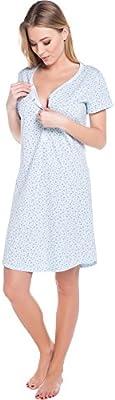 Italian Fashion IF Lactancia Camisón para mujer Liwia Mama 0114
