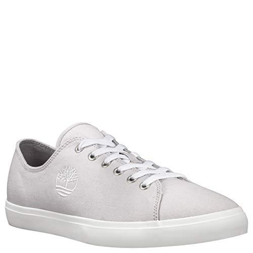 Timberland Herren Newport Bay Canvas Sneaker, Weiß (Wind Chime CYB), 46 EU