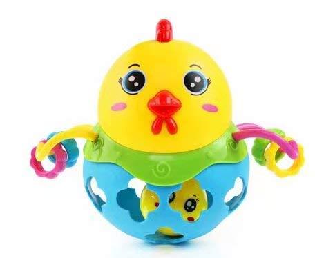 Baby Hand schnappen Rassel Spielzeug Kleinkind Lehrmittel Rassel Puzzle Fitness weichem Kunststoff Ball von Oball