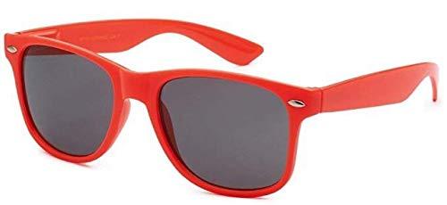 Sonnenbrille Nerdbrille retro Art. 4026 - Boolavard® TM (dunkles Rosa Tönung)