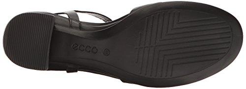 Ecco Ladies Shape 35 Block Open Sandal Black (1001 Nero)