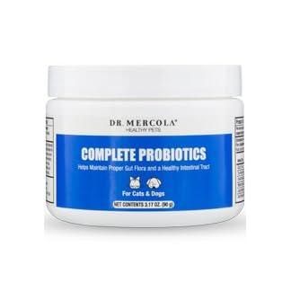 Dr Mercola Healthy Pets Complete Probiotics (90g Powder, 30 Servings) 8