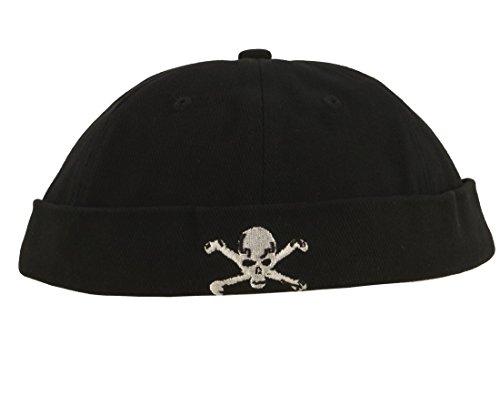 Cap COCO-Caps - ChillOuts schwarz mit Totenkopf