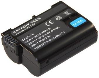 Akku (baugleich Nikon EN-EL15) für die Nikon 1 V1 Systemkamera