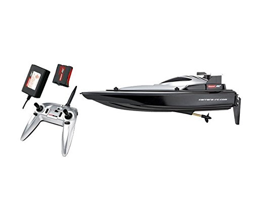 Carrera RC 370301012 - Race Boat, schwarz, Fahrzeuge mit Funktion